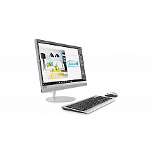Lenovo IdeaCentre AIO520-24IKU 23.8'' FHD(1920x1080)/Intel Core i5-8250U 1.60GHz Quad/4GB/1TB/GMA+MOUSE(USB)/W10H/1Y/SILVER